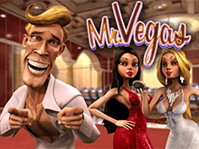 Слот Mr Vegas на зеркале клуба Вулкан